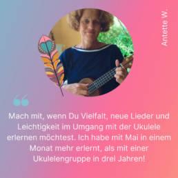 Anette W. Testimonial